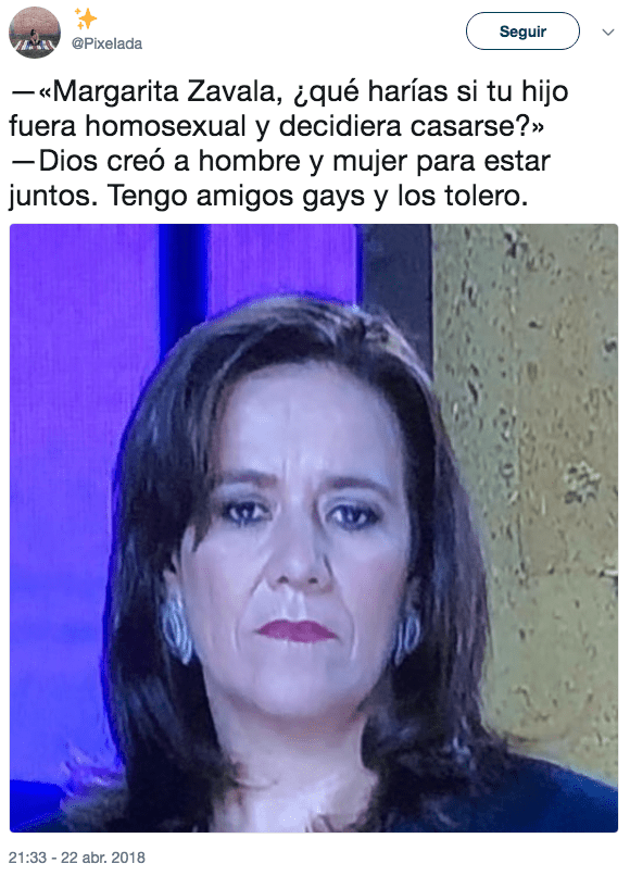 Memes margarita zavala debate