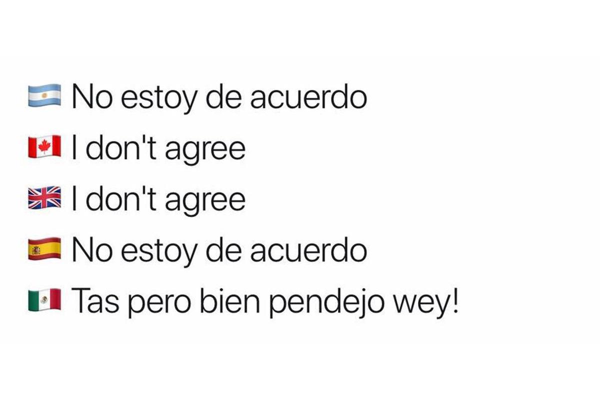 Mejores memes de Cmo se dice en Mxico el de las banderitas