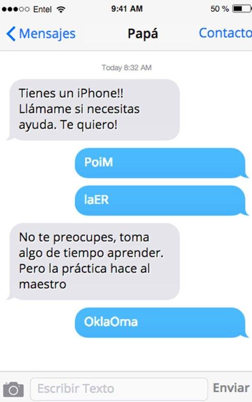 Cosas de papá mexicano