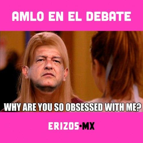 Memes AMLO debate presidencial