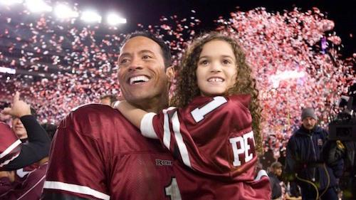 Madison Pettis Roca Entrenando Papá Años
