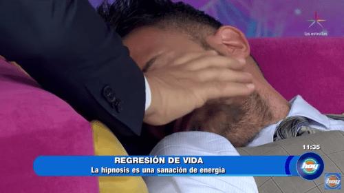 Fernando del Solar es hipnotizado en Hoy