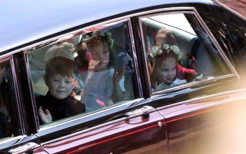 Niños Fotos Boda Real Meghan Harry