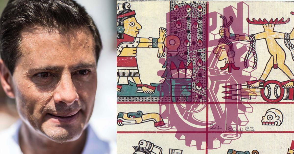 Peña Nieto Dice que El Poli Se fundó Hace 500 años