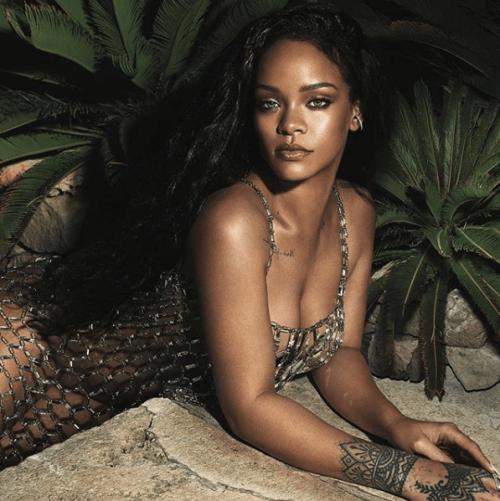 Rihanna compartió tutorial de maquillaje