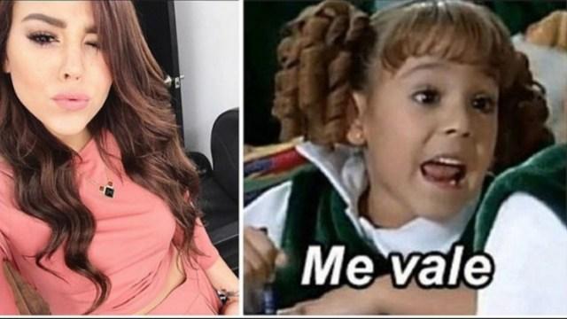 Danna Paola Eugenio Derbez meme Me Vale