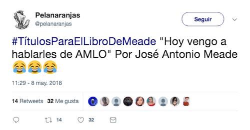 Pepe Meade Candidato Libro Título Internet