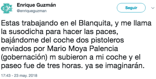 Enrique Guzman habla silvia pinal
