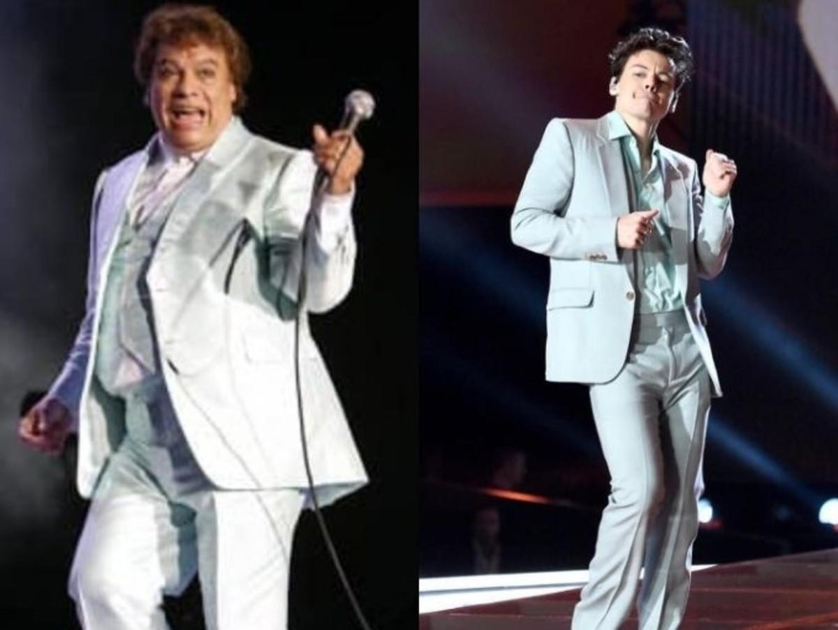 Harry Styles Copiando Vestuarios Juanga Fotos Juan Gabriel