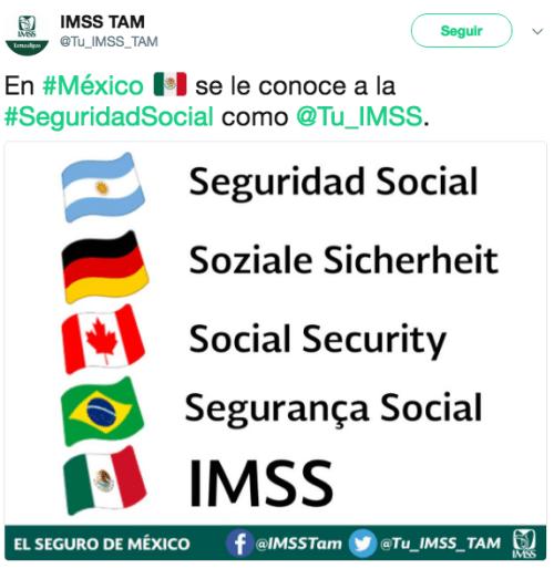 Twitter IMSS