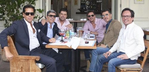 Los amigos de Luis Miguel se reunieron