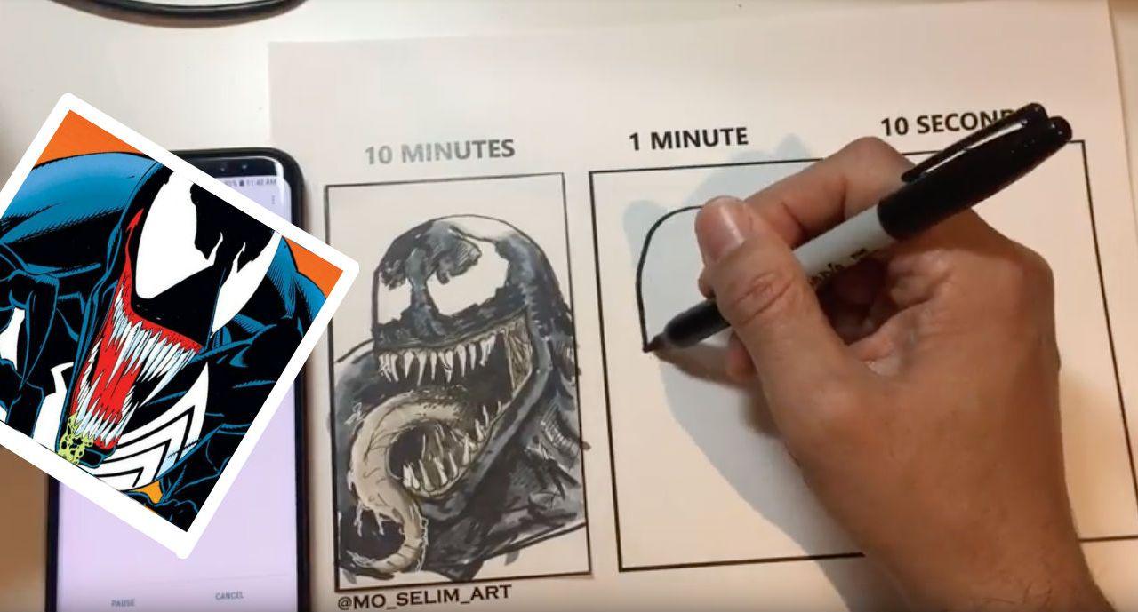 Límite-Tiempo-Desafío-Internet-Artista-Venom