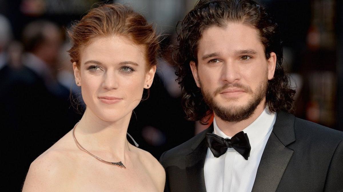 Kit Harington Rose Leslie Actores Matrimonio Jon Snow