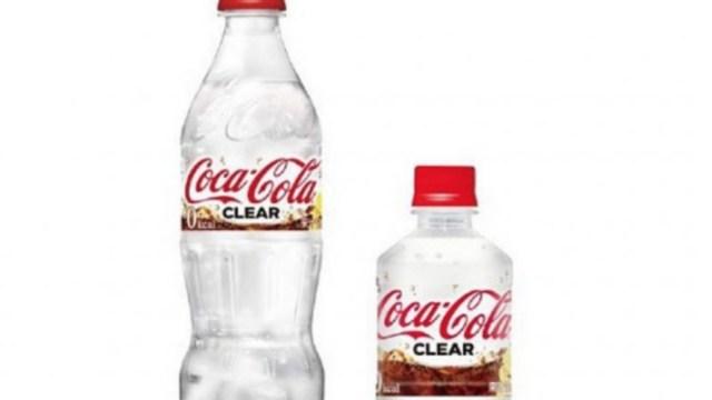 Coca cola quiere engañes refresco transparente