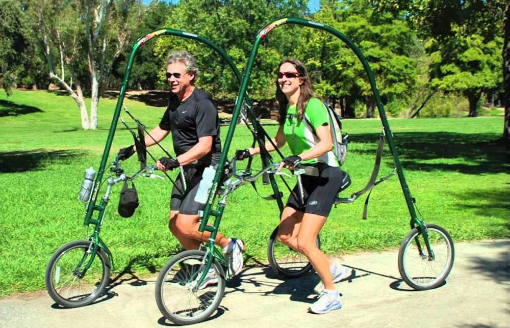 Inventos-Tontos-Bicicleta-Glidecycle-Correr