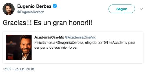 Eugenio Derbez Oscar