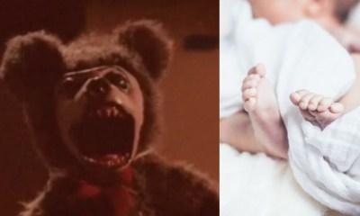 Video Oso Peluche Abraza Bebé, Oso De Peluche, Videos De Terror, Peluches Embrujados, Peluche, Bebé