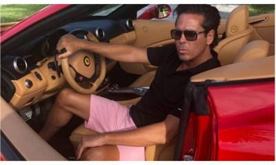Trollean Palazuelos Presume Ferrari rentado Miami