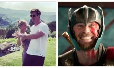 """""""Thor"""" baila regueton Esposa Sorprende redes"""