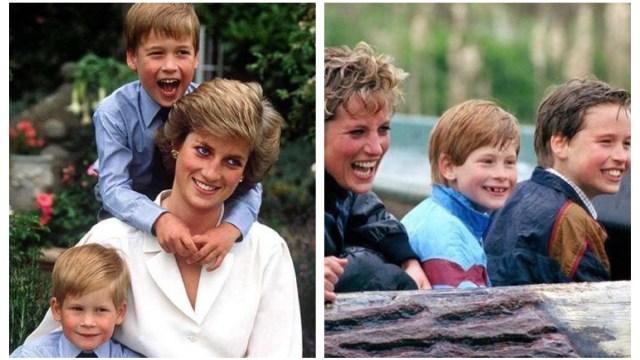 Princesa Diana Fotos demuestran Amaba William y Harry