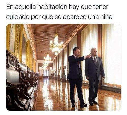 Memes del encuentro entre AMLO Y EPN
