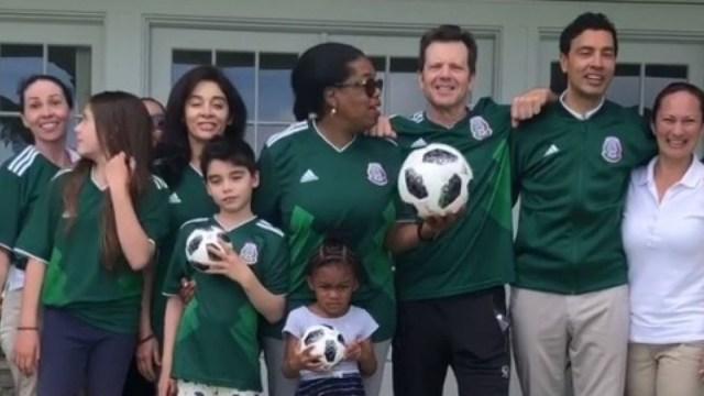 Oprah Winfrey Apoya A México, Oprah Winfrey Mundial, Oprah Winfrey, Mundial Rusia, México Brasil, México