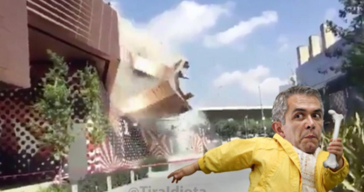 Memes Caída Artz Pedregal Reparar San Ángel