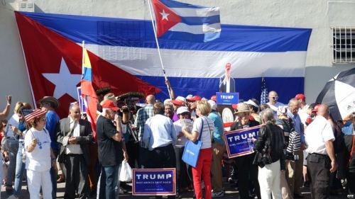 Cubanos Apoyan A Donald Trump