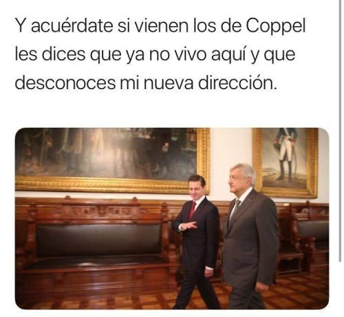 Memes encuentro Palacio Nacional AMLO epn
