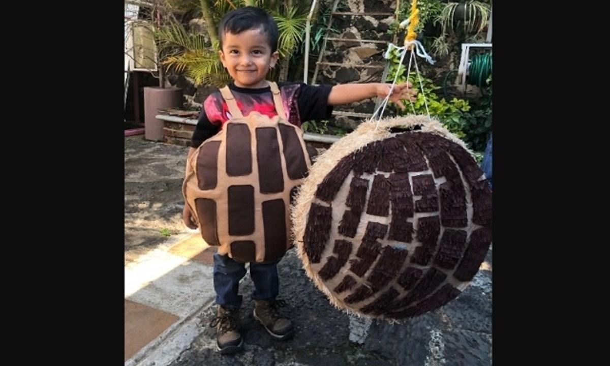 Regalan año pan gratis niño concha