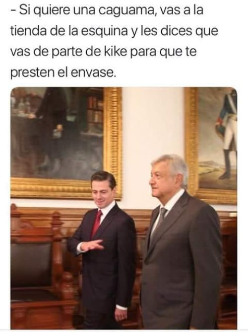 Memes del encuentro entre Andres Manuel y EPN