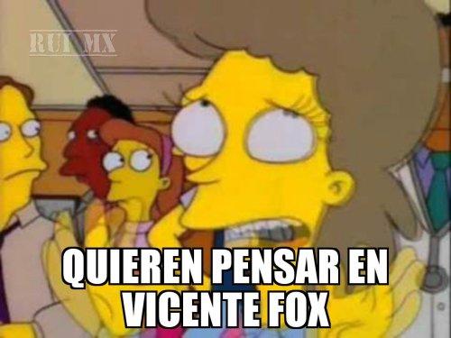 Memes de la pensión de Vicente Fox