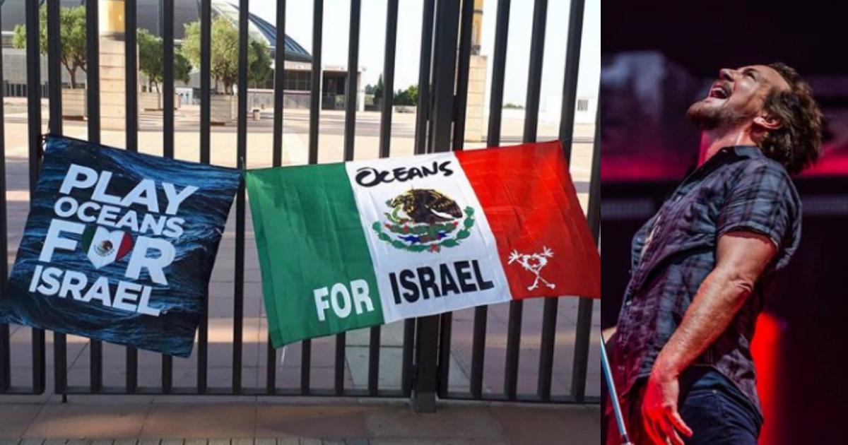 Pearl Jam Fan Muerto, Barcelona, Oceans, Israel, Eddie Veder, Cancion
