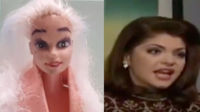 Que Haces Besando A La Lisiada Muñecas, Maldita Lisiada Barbies, Barbie, Soraya Montenegro, Escena Maldita Lisiada, Telenovelas