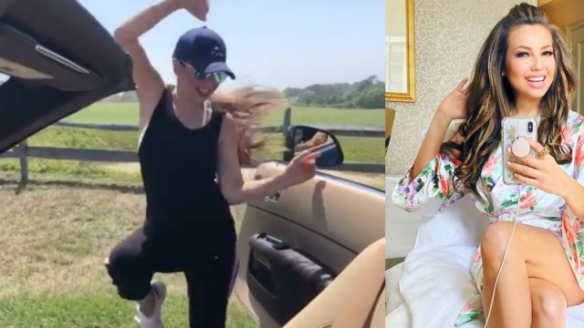 Thalia Chona Challenge, Thalia Kiki Challenge, Thalia, Viral, Tommy Mottola, Instagram