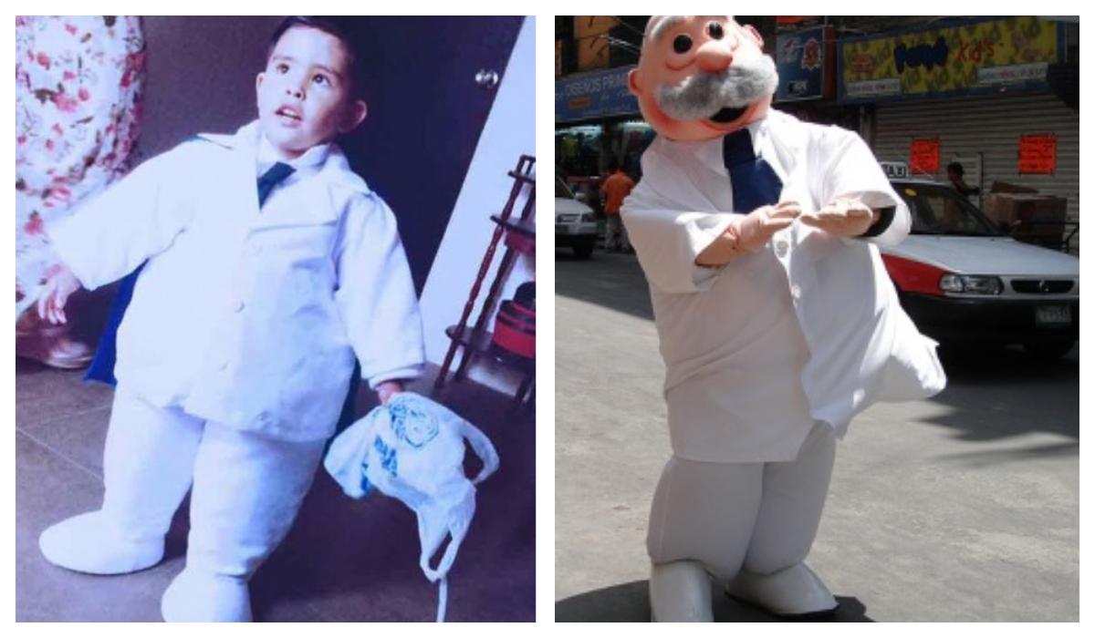 Niño se disfraza de Dr Simi Celebra Cumpleaños
