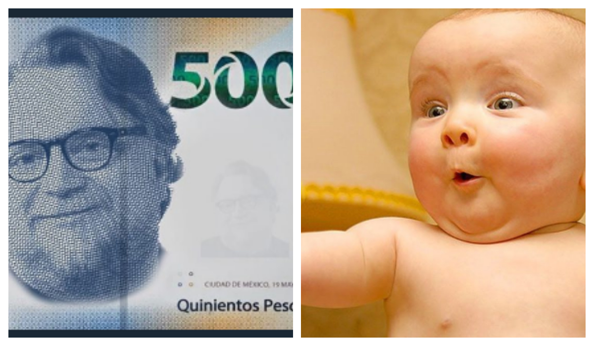 Guillermo del Toro Billete 500 Tren mame