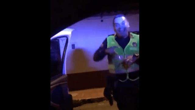 Investigan a policías que hicieron el #ChonaChallenge