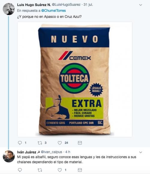 Reacciones a chumel torres tolteca