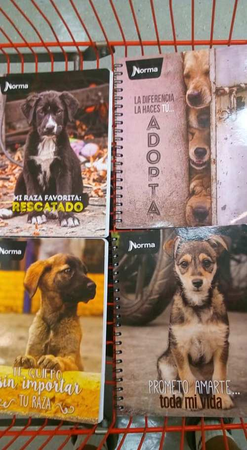 Cuadernos Norma Perros