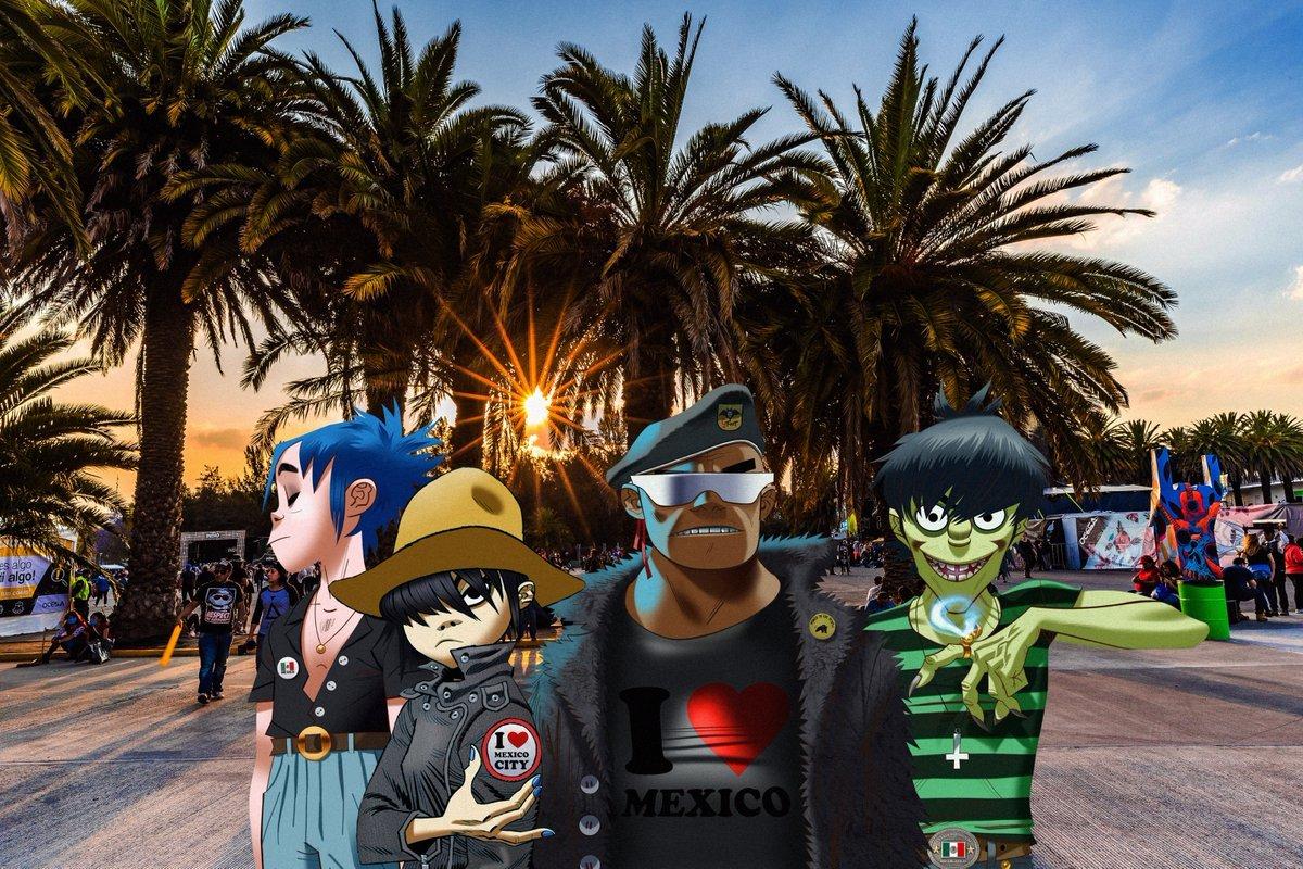 Gorillaz (casi) anuncia su regreso a México