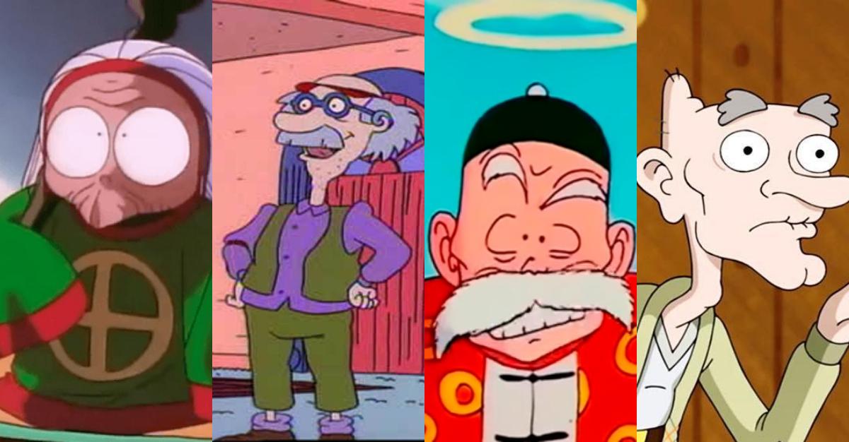 Mejores Abuelos Caricaturas, Día Del Abuelo, Abuelos, Abuelas, Televisión, Abraham Simpson,