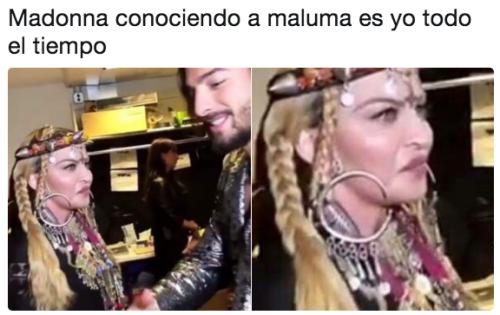 Memes Maluma Madonna vmas