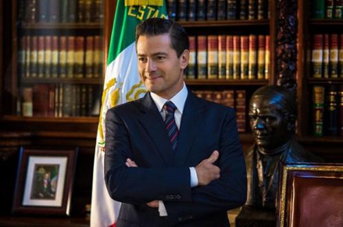 Enrique Peña nIETO hace Thalía Challenge