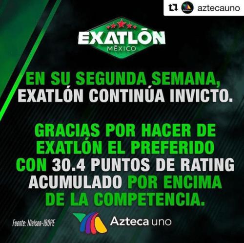 Televisa tiene más rating que tv azteca