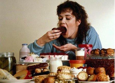 Si comes triste o enojado engordas más