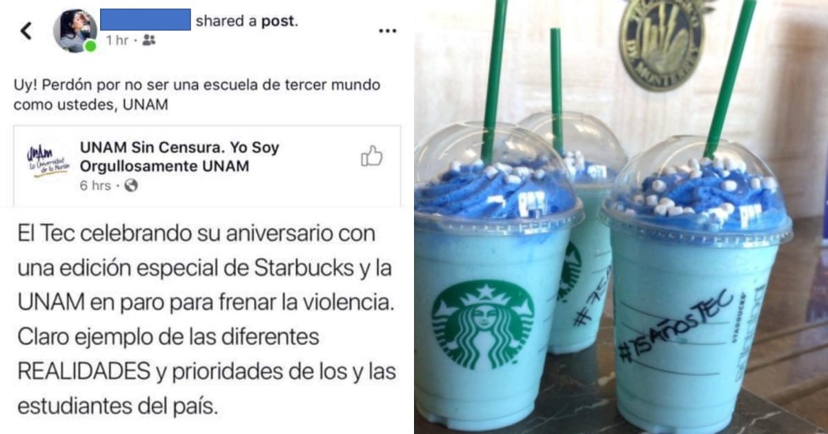 Melissa MN, Alumna Tec De Monterrey, Tercer Mundo, UNAM, Criticas, Facebook