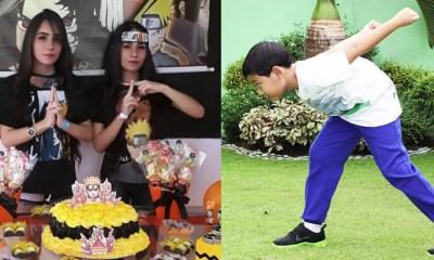 Esta elfa celebró su cumpleaños 18 con una fiesta de Naruto