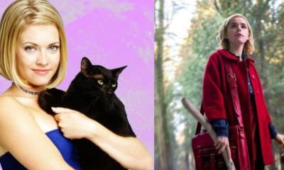 Así se ven los personajes del remake de Sabrina