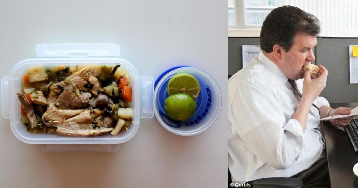 Guardar tu comida en tupper está haciéndote engordar